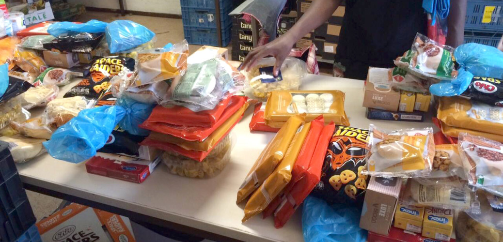 Meer dan 650 voedselpakketten!